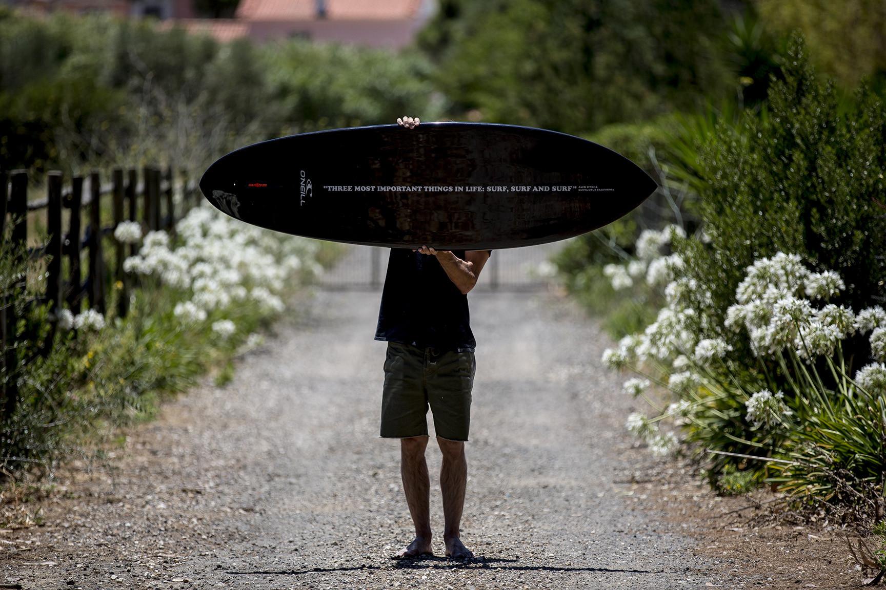 JACK O´NEILL MEMORIAL SURFBOARD by POLEN